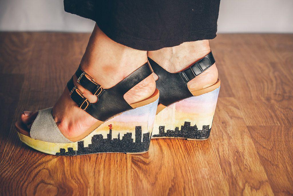 Skyline shoes