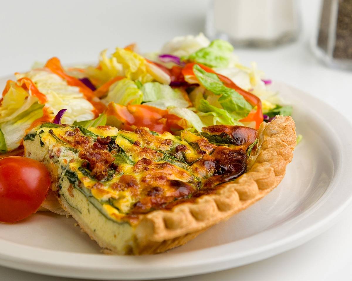 Meals on Wheels Quiche