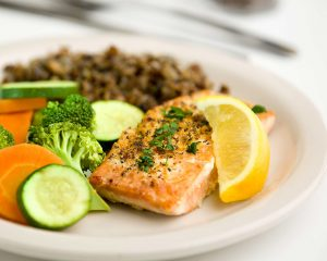 Meals on Wheels salmon