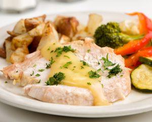 Meals on Wheels pork