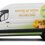 Meals on Wheels delivery van