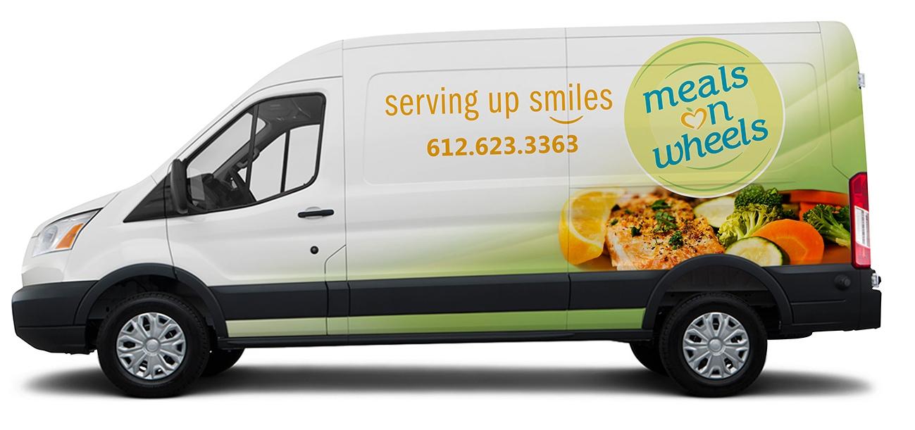 Meals on Wheels delivery van