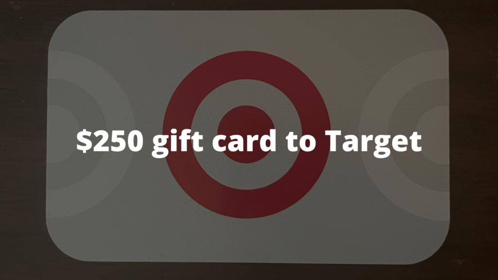 $250 Target Gift Card